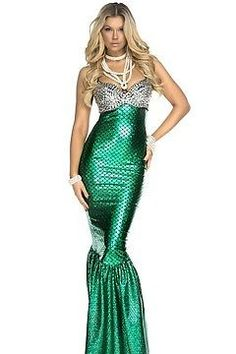 Forplay-Under-The-Sea-Sexy-Mermaid-Costume-554653-Green