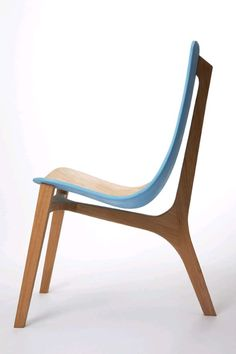 Baby Blue Chair by Paul Venaille