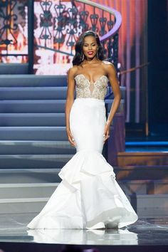Tiana Griggs Miss Georgia USA 2014 Evening Gown