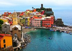 Vernazza, Italy | THE NATURE OF THE WORLD