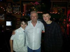 Michael Dixon with Justin Sherfey and Colby Acuff in Spokane, WA. 2013