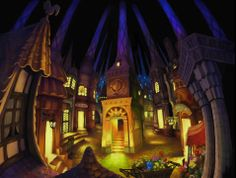 Pooka Village - Odin Sphere - BG art 2d Game Background, Odin Sphere, Dragons Crown, Fantasy Places, Macabre, Videogames, Concept Art, Scenery, Digital Art