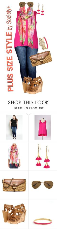 """Plus Size Basics - Society+"" by iamsocietyplus on Polyvore plussize, plussizefashion and societyplus"
