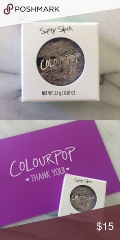Colourpop Meow Super Shock Eyeshadow Brand new never opened. I bought it on a whim from the rainbow collection because they were cool but I never wear colors so I don't need it. Colourpop Makeup Eyeshadow