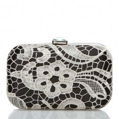 Love this clutch. Also comes in purple, tan and orange