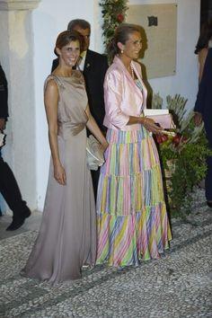 La Infanta Elena y Rosario Nadal se van de boda