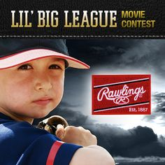 We've partnered with Rawlings Sporting Goods to celebrate America's favorite pastime with our Lil' Big League Video Contest!  Make a Movie about baseball and include the hashtag #allstar in the title and you could win one of 10 $100 gift certificates for Rawlings gear!