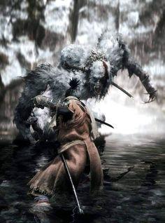 The Guardian Ape Fantasy World, Dark Fantasy, Fantasy Art, Ninja, Soul Saga, Character Art, Character Design, Dark Souls Art, Pathfinder Rpg