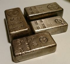 COPPER BAR LOT OF 6-1 POUND-TRAPAZOID STACKABLE-INGOT Premium Bars