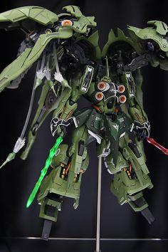 Custom Build: MERSA WORKS 1/100 NZ-666 Kshatriya - Gundam Kits Collection News and Reviews