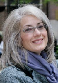 hairstyles for women over 50 with fine hair and glasses longgrey layers