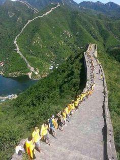 Via Catalana in China (Catalan Way) #Catalonia