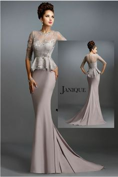 Wow Beautiful  stylish Janique Mother of the Bride/Groom Dress.