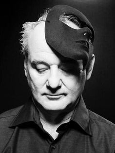 "Bill Murray - ""Don't think about your errors or failures; otherwise, you'll never do a thing."""