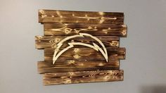 San Diego Chargers by CarolinaPalletDesign on Etsy San Diego Chargers, Family Gifts, Toaster, Wall Ideas, Man Cave, Landscaping, Cool Stuff, Awesome, Sweet