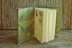 Irish Forest  Handbound Leather Journal in by TravelingChariot, $24.00