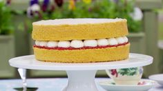 This Victoria Sandwich recipe is by Mary Barry and is featured in Season 4, Episode 10.
