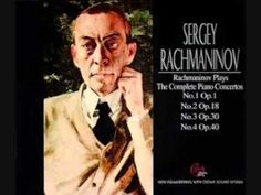Rachmaninoff plays Piano Concerto Nº4 op.40 by Rachmaninoff - Sergei Rachmaninoff, piano; The Philadelphia Orchestra; Eugene Ormandy, conductor; December 20, 1941