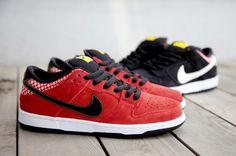 "#Nike SB Dunk Low ""Firecracker"" Pack"