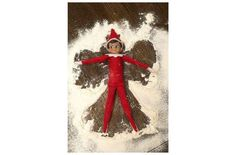 This little guy made a little snow angel. Other than baking cookies, it's the best thing to do with ... - Used with permission of / © Rogers Media Inc. 2015