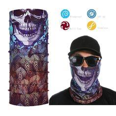 >> Click to Buy << New Cool Skull Bandana Bike Neck Face Mask Paintball Ski Sport Headband #Affiliate