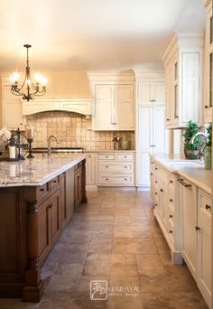 English Cottage, Traditional, Cape Cod, Craftsman, Old American - farmhouse - kitchen - santa barbara - Maraya Interior Design