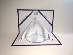 25th ANNIVERSARY Pop Up 3D CARD Stairs to HEALTH by BoldFolds
