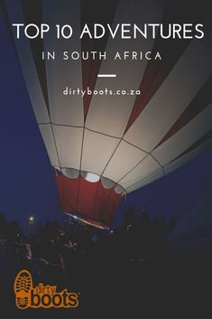 Hot Air Ballooning in South Africa. View our list of hot-air balloon flights in South Africa - Dirty Boots Air Balloon Rides, Hot Air Balloon, North West Province, Slowly Drifting, Balloon Flights, Private Games, Kruger National Park, Morning Person, Adventure Activities