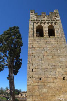 Torre campanario románica de estilo lombardo del siglo XII. Sant Esteve de Canapost. Canapost. Girona