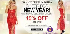 StackUp Your Savings For ‪#‎Christmas‬ and ‪#‎Newyear‬ at ‪#‎Rotita‬ .Enjoy the season. Utilize this Offers. Shop Now. For More Visit http://www.mydealswallet.com/store/rotita-coupon-codes.html