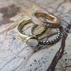 Ring Tricolori #ring #style #leonardoglas #leonardoglasliebe #jewels #jewelry