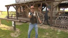 man recreates wild west with his own saloon - Saskatchewan - CBC News Old Building, Building Ideas, Western Saloon, Saskatchewan Canada, Just Run, Old West, British Columbia, Vacation, News