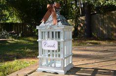 Lantern card holder, wedding lantern centerpiece