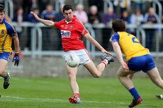 Cadbury\'s GAA Football All-Ireland Under 21 Championship Semi-Final Cork vs Roscommon. Cork\'s Mark Sugrue scores a goal. Sugru, Semi Final, Scores, Farmer, Finals, Ireland, Chill, Football, Running