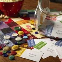Quilt Guild Bingo instructions for a fun evening with friends or an inexpensive activity for your favorite guild.