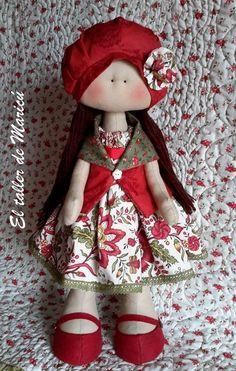 El taller de Maricú: Mi muñeca Amelie