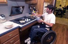 Shepherd Center's Activities of Daily Living Kitchen is a model that demonstrates how a few simple adaptations can make a kitchen wheelchair-accessible.