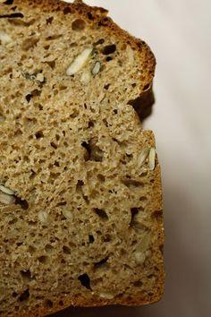 Upečeno.: Celozrnný chleba z kvasnic