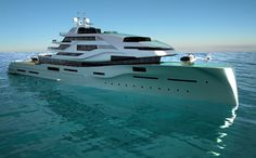 EXPOSÉ by Icon Yachts and Impossible Productions Ink LLC - short listed for the Yacht Concept Design over 50 metres Award in the International Yacht and Aviation Awards 2013...