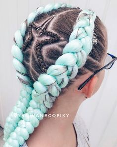 55 Lovely Pink Hair Colors: Tips for Dyeing Hair Pin Hair Color Pink, Cool Hair Color, Pink Hair, Blog Beauté Bio, Hair Tinsel, Natural Hair Styles, Short Hair Styles, Braids With Extensions, Small Braids