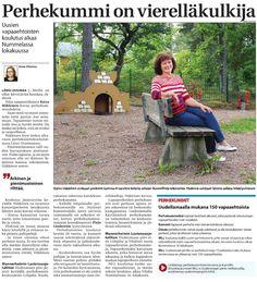 MLL:n Uudenmaan piiri etsii uusia perhekummeja Lohjalla ja Vihdissä. Juttu perhekummista Länsi-Uusimaassa 22.8.2014