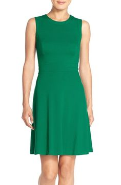 Vince Camuto Jersey Fit & Flare Dress (Regular & Petite) available at #Nordstrom