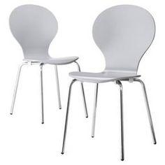 Porter Modern Stacking Chair - Espresso (Set of 2) : Target