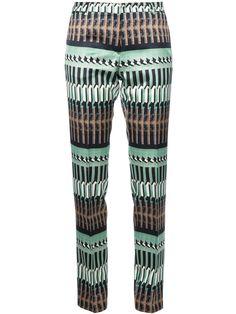 Dries Van Noten   'Polish Green' Trouser