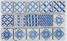 Beautiful blue tiles.