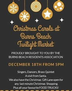 It's going to be a great day down this Wednesday. As well as a full brownie bar there will be CHRISTMAS CAROLS and SANTA is coming to Burns Beach Foreshore Christmas Carol, Christmas Gifts, Brass Quintet, New Cake, Brownie Bar, Christmas Shopping, Food Truck, Burns, Wednesday