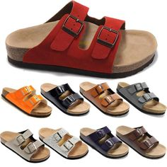 Wholesale Free Shipping Fashion Birkenstock Women Flat Sandals Platform, Cheap Rome Sandals,Casual Beach Summer Slippers 100% High Quality, Free shipping, $39.79/Piece | DHgate Mobile