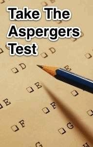blog post today about simple Asperger's quiz by Christie at LaughingWithAsperger's