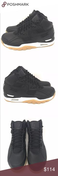 a01f3b2a6832f3 Nike Air Trainer SC Winter Black Sail Gumsole Nike Air Trainer SC Winter  Black Sail Gumsole