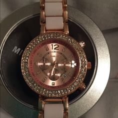New rose gold and crystal MK watch No box brand new sealed watch Michael Kors Accessories Watches